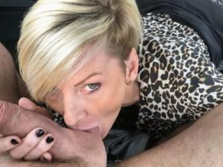 MILF Swaps Shops For Cock