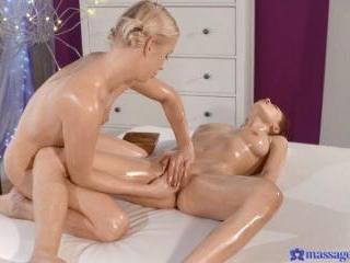G-spot Orgasm For Horny Lesbian Teen
