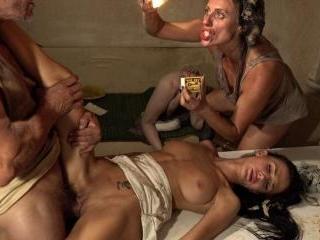 Family anal fest