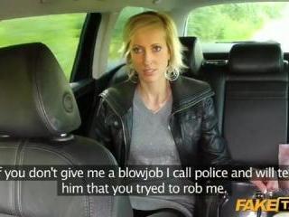 Quick Blowjob Or Calling The Cops?