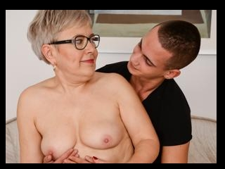 Ursula\'s Grande Need of a Young Fuck