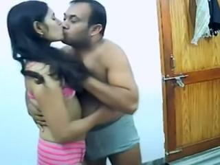 Indian scandal video of a cutie fucking a fat dude