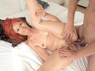 Charlotta\'s anal debut