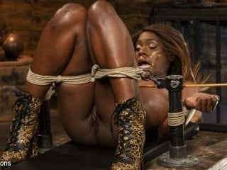 Ana Foxxx: Destroyed with Bondage, Electricity, an