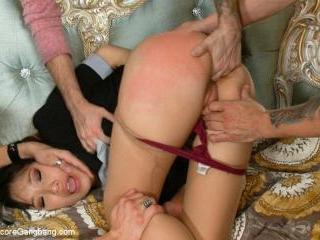 18yr old Asian Porn Virgin Begs to get Gangbanged!