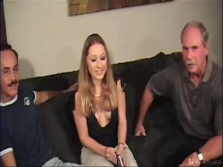 Blonde Fucked By Old Dudes - V2