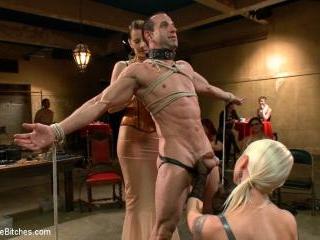 LIVE & PUBLIC slave humiliation, degradation, pros