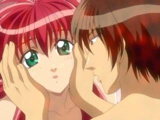 winsome redhead hentai