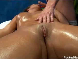 18 year old Teal gets fucked hard from behind by h