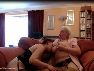 Barby & Mel Caught On Cam