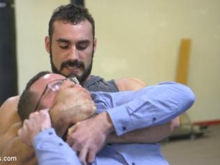 Slender stud humiliated and abused at the hands of