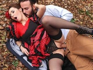Fiery Hardcore in The Woods: Flamenco Dancer Needs