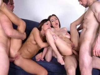 3m2f DP Swingers Orgy with Horny Neighbors Nicole