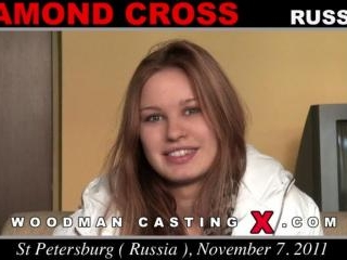 Diamond Cross casting