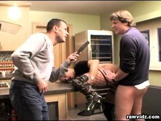 Naughty Mom Threesome Sex