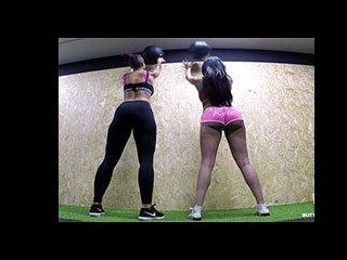 Anissa Kate\'s personal workout