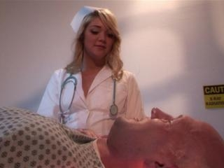 Jessie Andrews in Jessie Andrews nurses his boner