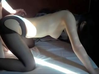 Asian busty gf gets some hardcore banging up her t