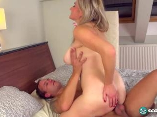 Audee in Busty Blonde Fucks On First Date