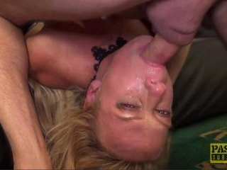 Sasha Steele throated and fucked in ass