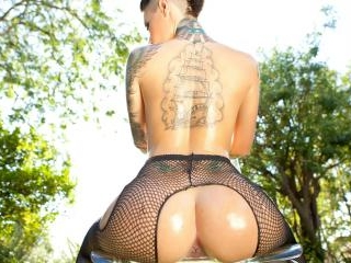 Christy Mack shows off her hot body in this compil