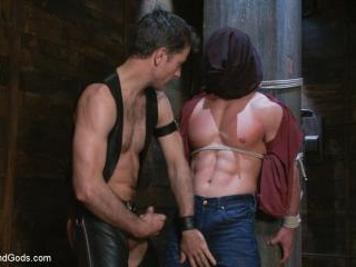 Marc Dylan is bound, beaten and fucked for the fir