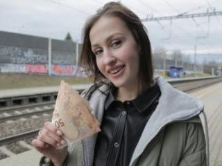 Train Station Smoker Gets Fucked