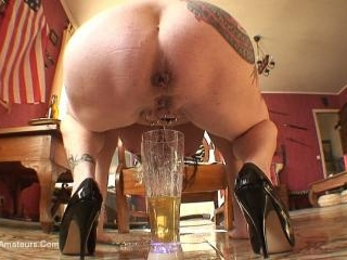 Beer Bottle In My Pussy Pt2