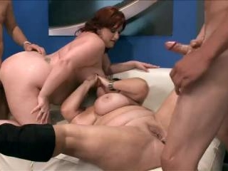 Reyna Mae,  Brandy Ryder and  Renee Ross in Fours