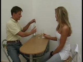 Sex at dining-table Part1