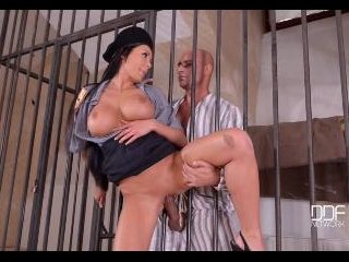 Prison Guard's Fantasies: Fucking Through The Bars