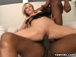 Hot Interracial Threesome Baning
