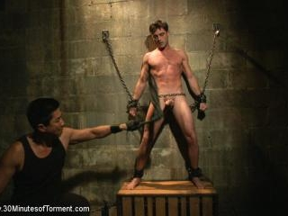 Straight hunk Lance Hart - The Wall - The Chair -