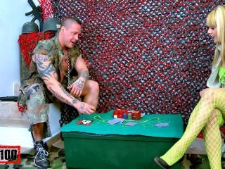 Sergeant Rob likes poker and sex!
