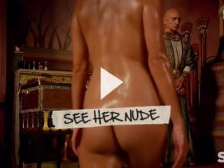 Sibylla Deen is All Oiled Up and Naked