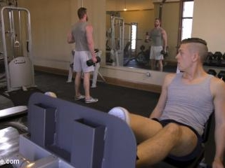 Ginger Muscle God Tormented and Edged in Bondage