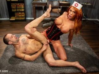 Stress Test: Nurse Aspen Brooks Tests Naughty Pati
