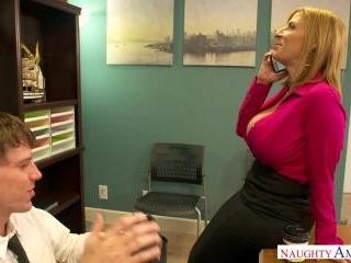 Naughty Office - Sara Jay & Rion King