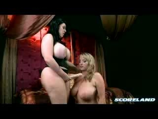 Maggie Green and  Daphne Rosen in Boob Sciencea