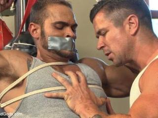 The Creepy Handyman Torments The Gym Stud