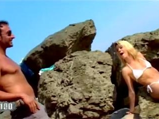 Porn video :   Chloe Delaure Jorge Beach