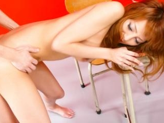 Busty girl Aizawa Ren gets sexy toys in the pussy