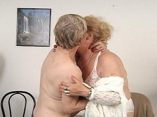 Sexy elder lesbians plays with wet pussies