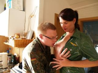 Horny In Uniform