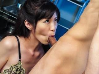 Sara Yurikawa office hardcore along her boss