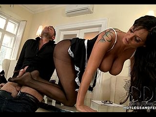 Maid For A Stud!