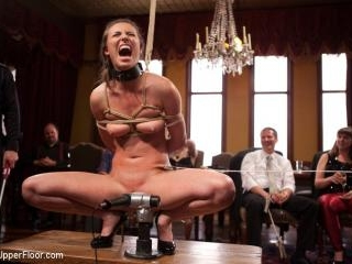Gorgeous Anal Sex Slave Petitions to Serve the Hou