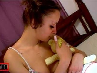 Porn video :   Krystal Teen Bed