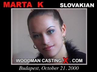 Marta K casting