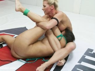 Bondage Wrestling Exhibition Match with Ariel X an